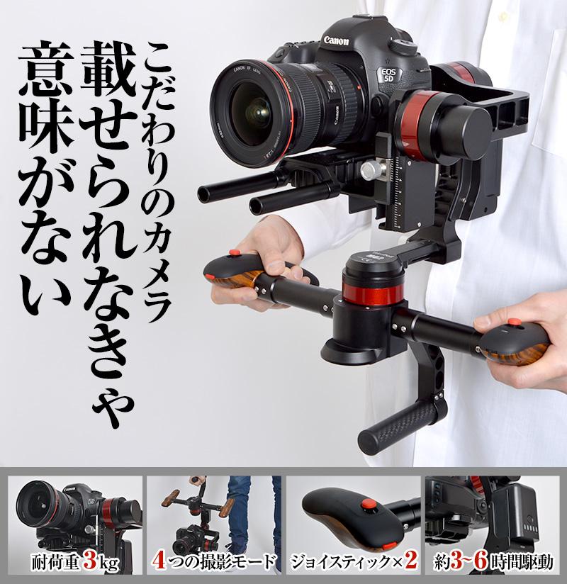 こだわりの画もカメラも載せる。